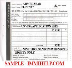 Sample Axis Bank Deposit Slip U S Visa Fee In India