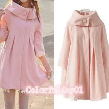 womens bathroom sign cape. Women\u0027s Princess Style Pink Cape Fitted Wool Coat Jacket Winter Cute Womens Bathroom Sign S