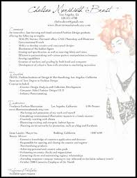 Classy Hair Salon Resume Examples Resume Design Adorable Fashion Resume Examples