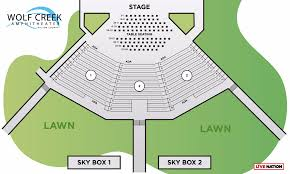 Amp Seating Chart Seating Chart Wolf Creek Amphitheater