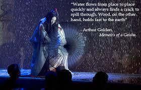 isu project memoirs of a geisha tags memoirs of a geisha geisha rain snow sayuri dancing