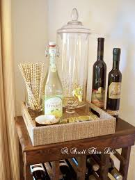 Wine Carts Cabinets A Stroll Thru Life Wine Bar Cabinet Breakfast Room Sneak Peak