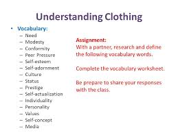 Unit One Apparel and Fashion - ppt download