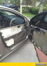 funny car door broke cables jpg