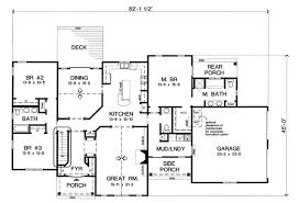 Eplans Bungalow House Plan  Four Bedroom Bungalow  3602 Square Bungalow House Plans