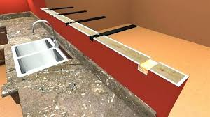 steel brackets for granite countertops