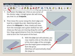 Additionally, as you can see the app is about snooker, how can i easily make sure that each instructional line is positioned at the height of the. Sketchup Toy Boat Level Of Difficulty Time Approximately 15 20 Minutes Ppt Download