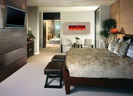 electric fireplaces in bedroom
