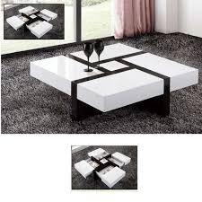 newest high gloss coffee tables inside extendable high gloss coffee table fif blog view
