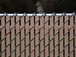 chain link fence slats brown. Slats For Chain Link Fence In Brown Color H