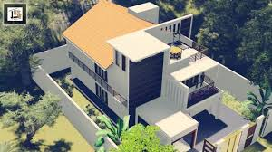 Small Picture PS 3D Home Design SrilankaHouse plan YouTube