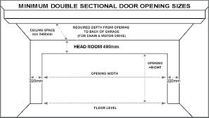 double garage doors sizes innovative on exterior pertaining to standard door single roller interesting