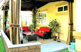 balcony curtains outdoor patio and backyard medium size shade curtain privacy screen ideas chennai