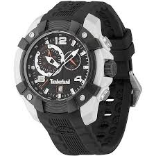 timberland men 039 s wheelwright 44mm silicone band quartz watch tbl 13356jpgyb 02 timberland men s wheelwright 44mm black silicone band steel case quartz analog watch tbl 13356jpgyb 02