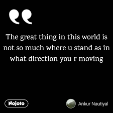 World Quotes New The Great Thing In This World Quotes Shayari Story Poem
