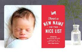 Sibling Birth Announcement Christmas Birth Announcements Afourstudio Co