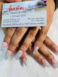 awesome nails spa all the info you