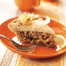 greek honey nut pie recipe taste of home