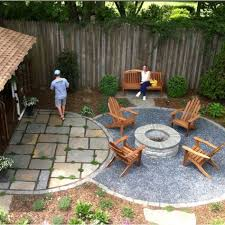Models Patio Designs With Fire Pit Round Firepit Area For Summer Nights Relaxing Backyard And Impressive Design