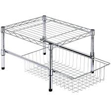 small wire shelves shelf organizer cabinet with drawer rack mini shelving unit small wire shelves