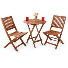 folding garden table sets. 3-pc. outdoor folding table and chairs set garden sets d