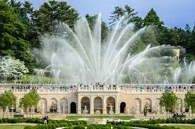 fountain garden. Main Fountain Garden - Longwood Gardens V