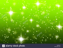 Green Starry Christmas Holiday Abstract Background Created In Stock