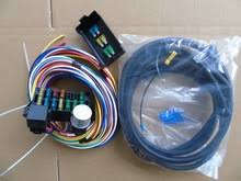 whole cnch new 14 circuit basic wire kit small wiring harness automotive universal 12 circuit mini street rod wiring harness