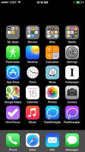Invisible iOS Home Screen Icons - David ...