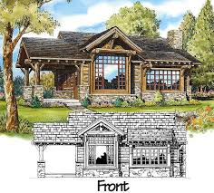 small stone house plans mountain cabin