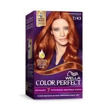 Купить <b>WELLA</b> COLOR PERFECT <b>Стойкая крем</b>-<b>краска</b> 7/43 ...