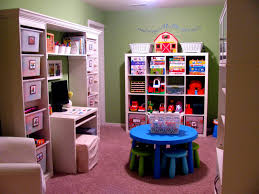 the function of playroom storage decorating intended for kids room organizing charming office craft home wall