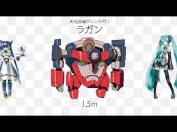lol size mechas size comparison from various series not everything is mecha