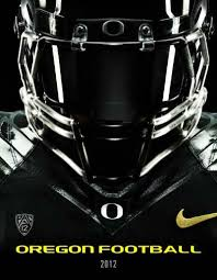 2012 Oregon Football Multi Media Guide University Of