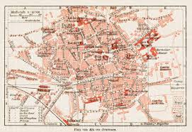 old map of aix en provence in 1913 buy vintage map replica poster Maps Aix En Provence aix en provence city map, 1913 use the zooming tool to explore map aix en provence france