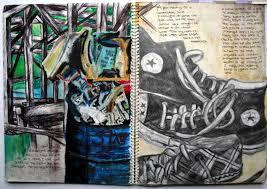 gcse art book layout art sketchbook presentation ideas google search
