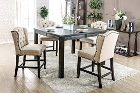 light wood dining room set furniture iii counter height dining table set chairs and round square