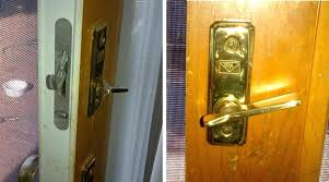 sliding glass door locks automatic closer