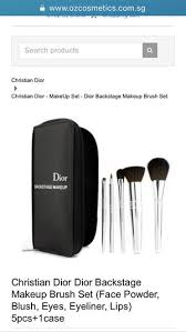 brand new authentic dior backse makeup brush set in gilbert az offerup