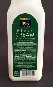 heavy cream has no ilizers or other additives