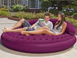 blow up furniture. Inflatable Round Lounge Blow Up Furniture U