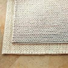 braided wool rug targets home chunky braid rugs made in usa