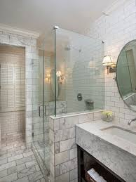 tiled bathroom walls. Elegant White Tile And Subway Corner Shower Photo In New Orleans With An Undermount Sink Tiled Bathroom Walls Houzz