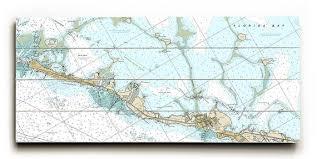 Fl Islamorada Fl Nautical Chart Sign Islamorada Map Sign Florida Keys Map Sign