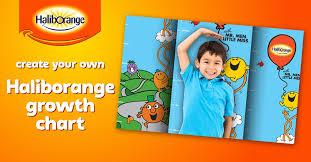 Create Your Own Haliborange Growth Chart Kids Health