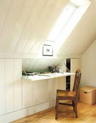 Clever Attic Hidden Storage. By using the structures in the attic room,  turn your