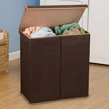 amazoncom household essentials  double hamper laundry sorter