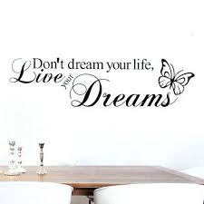 sweet dreams wall decals sweet dreams erfly vinyl wall sticker e bedroom mural decor decal sweet