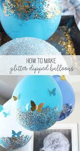 glitter balloon tutorial