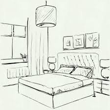Simple bedroom drawing Master Bedroom Simple Interior Design Drawing With House At Getdrawings Com Free For Personal Use Simple Home Decorating Ideas Simple Interior Design Drawing Simple Home Decorating Ideas